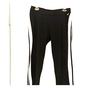 Nike Capri style athletic pants.